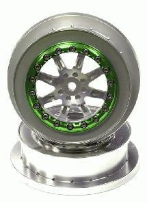 Billet Machined T1 Rear Alloy Wheel for Axial EXO Terra Buggy