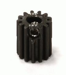 Billet Machined Hard Anodized Aluminum 48 Pitch Pinion 13 Teeth for 0.125 Shaft