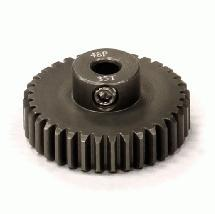 Billet Machined Hard Anodized Aluminum 48 Pitch Pinion 35 Teeth for 0.125 Shaft