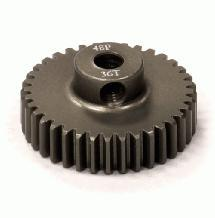 Billet Machined Hard Anodized Aluminum 48 Pitch Pinion 36 Teeth for 0.125 Shaft