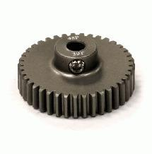 Billet Machined Hard Anodized Aluminum 48 Pitch Pinion 39 Teeth for 0.125 Shaft