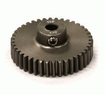 Billet Machined Hard Anodized Aluminum 48 Pitch Pinion 40 Teeth for 0.125 Shaft