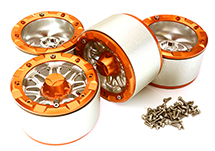 Billet Machined Alloy Dual 8 Beadlock Wheel (4) for Axial Wraith 2.2 w/ 12mm Hex
