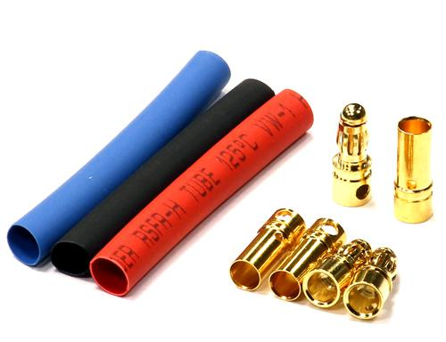 3.5mm Size Connector Plug Set (Male=2p Female=4p) for ESC, Motor & Wire Harness