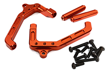 Billet Machined Tube Frame Shock Mount Front for Axial Wraith 2.2