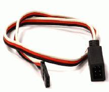 RX-Futaba Type Y-Extension 300mm 22AWG Servo Wire w/ Single Block Connector