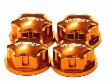 Billet Machined 17mm Hex Wheel Nut (4) for 1/8 Buggy, Truggy, SC & Monster Truck