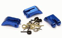 Alloy Clutch Shoes (3) Set w/ Clutch Spring for 1/8 Nitro Buggy