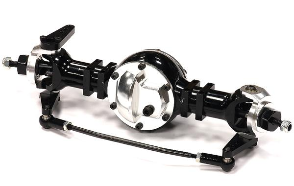 Billet Machined Front Axle W Steering Setup For Custom 1 14 Semi Tractor