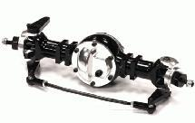 Billet Machined Front Axle w/ Steering Setup for Custom 1/14 Semi-Tractor Truck