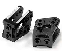 Billet Machined Alloy T4 Lower Suspension Link Mount (2) for Axial Wraith