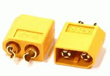 XT60 Type Connector (2) Male 3.5mm
