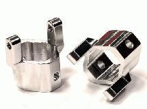Billet Machined Alloy Caster Blocks for Axial SCX-10 Honcho & Dingo