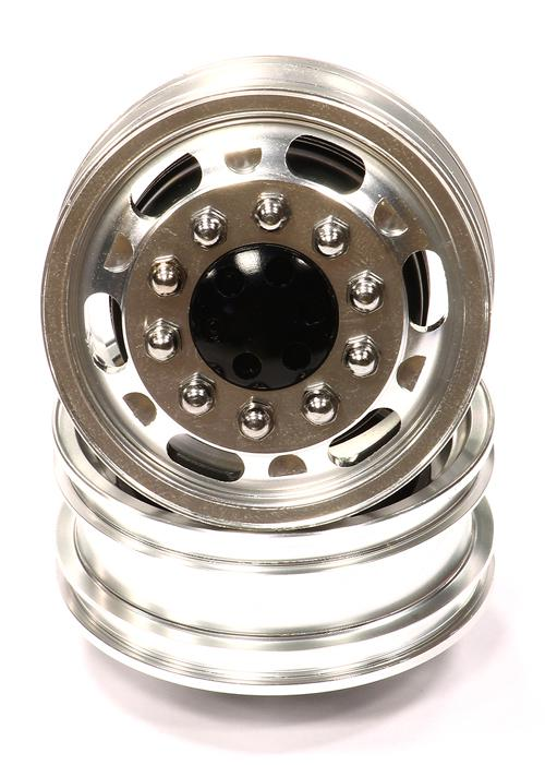Billet Machined Alloy Front Wheel Type 12R Set (2) for ...