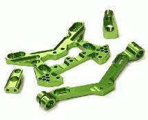 Integy C24854GREEN Billet Machined Suspension Kit for for HPI 1//8 Apache SC Flux