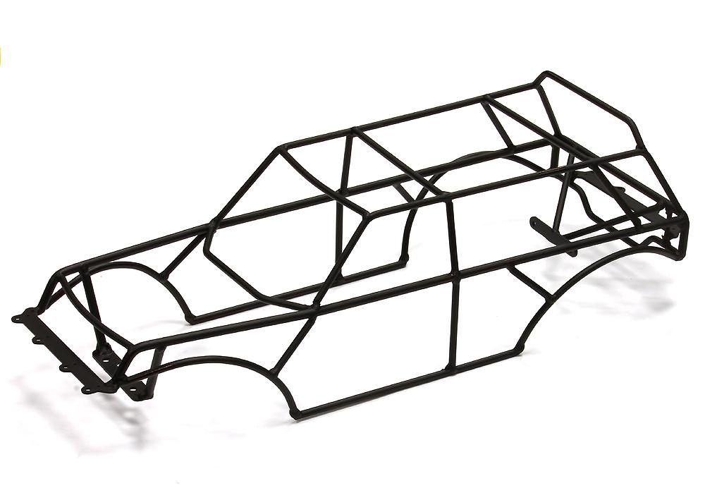 Steel Roll Cage For Traxxas 110 2wd Monster Jam Series For Rc Or