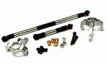 HD Billet Machined Steering Block and Linkage for Axial SCX-10, Honcho & Dingo