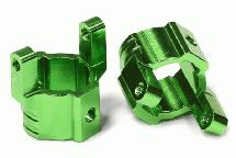 HD Billet Machined Alloy Caster Blocks for Axial SCX-10, Honcho & Dingo