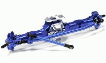 Billet Machined T2 Complete Front Axle Assembly for Axial 1/10 Wraith