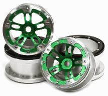 Billet Machined Alloy Dual 5 Beadlock Wheel (4) for Axial Wraith 2.2 w/ 12mm Hex