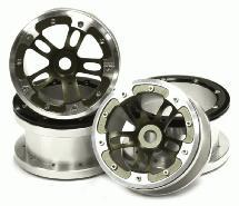 Billet Machined Alloy Dual 5 Beadlock Wheel (4) for Axial Wraith w/ 12mm Hex