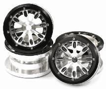 Billet Machined 8M Beadlock Wheel Adj. Offset for Axial Wraith 2.2 w/ 12mm Hex