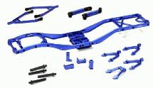 Alloy Ladder Frame Chassis Kit w/ Hop-up Combo for SCX-10 Dingo, Honcho & Jeep