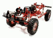 V2 Billet Machined 1/10 Trail Roller 4WD Off-Road Scale Crawler ARTR
