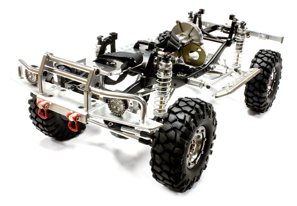 trail frame chasis case Axial ax10 and scx10 chassis  axial ax10 rock crawler custom chassis frame set delrin aluminum 1/10 scale  losi micro rock crawler and trail trekker chassis (2).