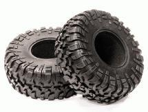 All Terrain X4Type Off-Road 2.2 Size Tire Set (2) for Scale Crawler (O.D.=132mm)