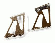 Realistic Alloy Rear Wing Mount (Medium 25mm) for 1/10 Size Drift & Touring Car