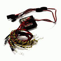 2CH Type Complete 12 LED Light Set w/ Control Box for 1/10 Drift & Touring Car