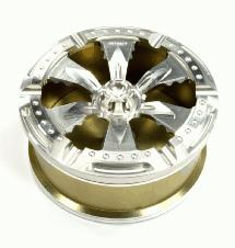 Billet Machined Aluminum Cigarette Ashtray w/ 6 Position Slots