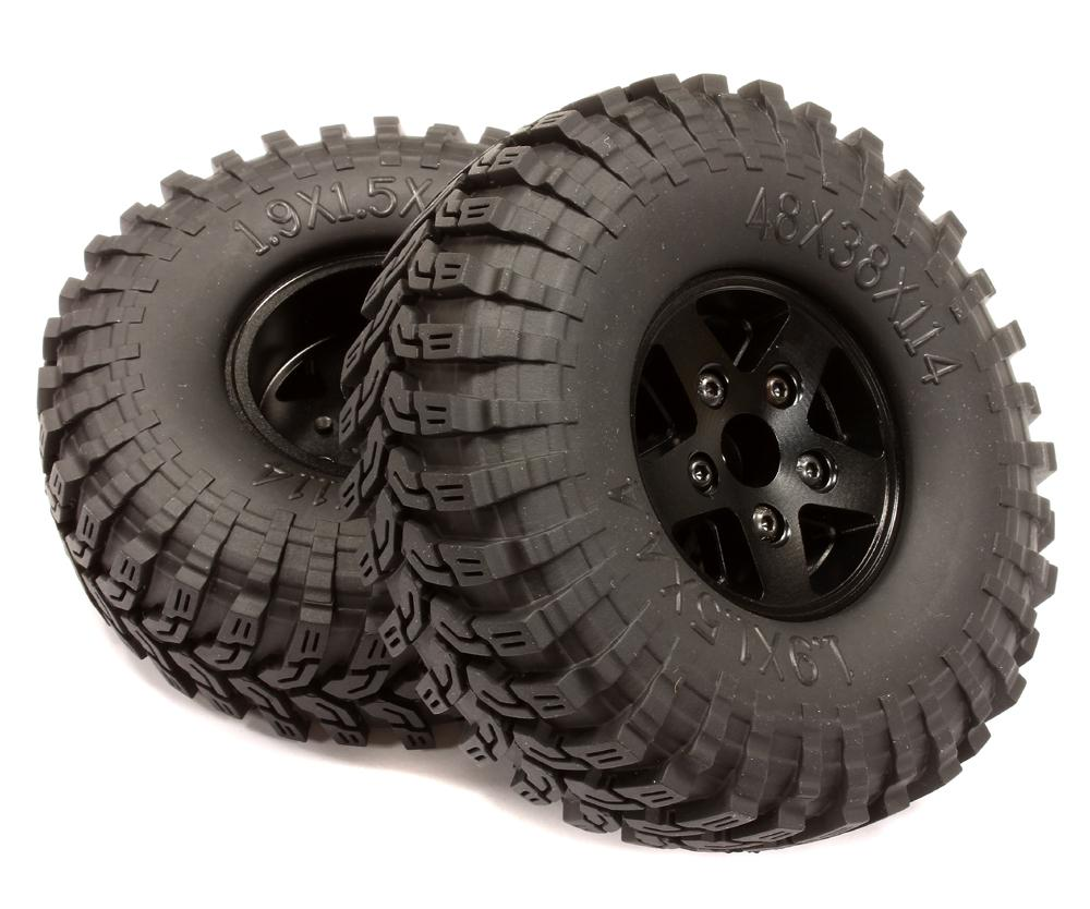 rc rock crawling wheels tires 1 9 size 2 2 size super class unlimited size for r c or rc. Black Bedroom Furniture Sets. Home Design Ideas