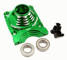 Billet Machined Enclosed Clutch Carrier Mount Housing for Losi 5ive-T