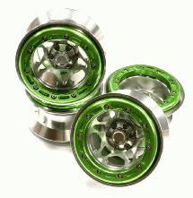 Alloy Type XI 5S 2.2 Beadlock Wheel Set for Rock Crawler