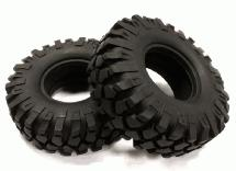 1.9 Size All Terrain (2) Off-Road Tires Type VII (O.D.=107mm)
