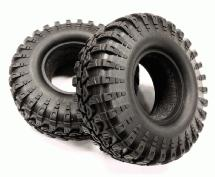 1.9 Size All Terrain (2) Off-Road Tires Type VIII (O.D.=106mm)