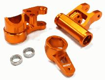 Billet Machined Steering Bell Crank Set (3) for Losi 5ive-T