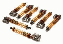 Super-Duty XSR9 Shock Set (8) for Savage-X, 21 & 25 (L=163mm)
