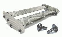 Type IV Silver Carbon Fiber Rear Wing for HPI Baja 5B & 5B2.0