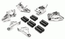 Billet Alloy Modified Rear Hub + Steering Block Set for HPI Baja 5B2.0, 5T & 5SC