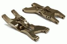 Billet Machined Rear Lower Suspension Arms for Team Associated RC10B4.2