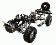 V2 Billet Machined 1/10 Size TR310 Trail Roller 4WD Off-Road Scale Crawler ARTR