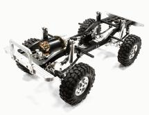 V2 Billet Machined 1/10 Type D90 Roller 4WD Off-Road Scale Crawler ARTR