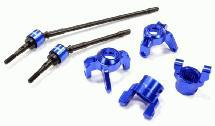 Billet Machined Steering, Caster Block & Front Shaft Set for 1/10 Wraith 2.2