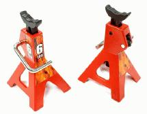 Realistic Model Jack Stands (2) for 1/10 & 1/8 Scale & Rock Crawler