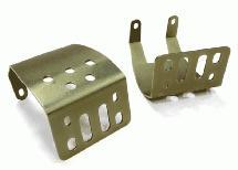 Alloy Skid Plate Assembly (2) for Axial SCX-10 Type Axle