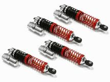 Billet Machined T6 Piggyback Shock (4) Axial SCX-10, 2.2 Crawler (L=99mm)