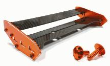 Type V Composite Carbon Fiber Alloy Rear Wing Set for HPI Baja 5B & 5B2.0